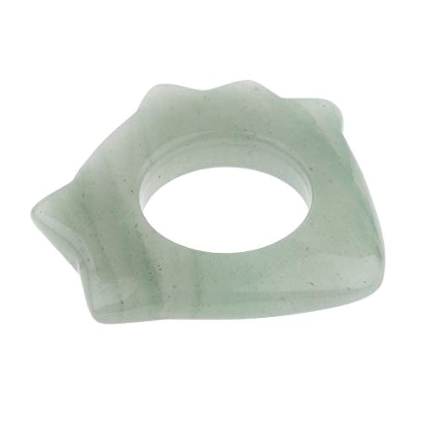 頬骨アルミニウム毒液かっさプレート 高品質 天然翡翠 使いやすい 顔 ボディ マッサージ 滑らか 健康 贈り物 5種選ぶ - 1