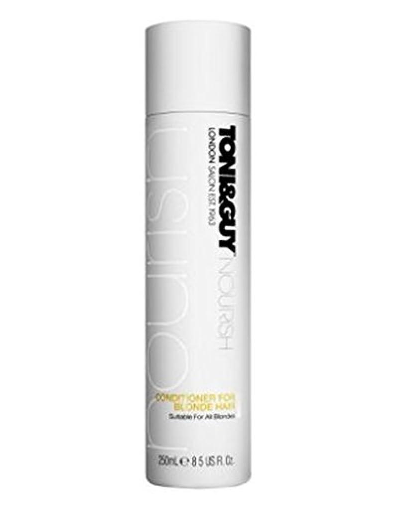 分析するおいしい蒸気トニ&男は金髪の250ミリリットルのためにコンディショナーを養います (Toni & Guy) (x2) - Toni&Guy Nourish Conditioner for Blonde Hair 250ml (Pack...