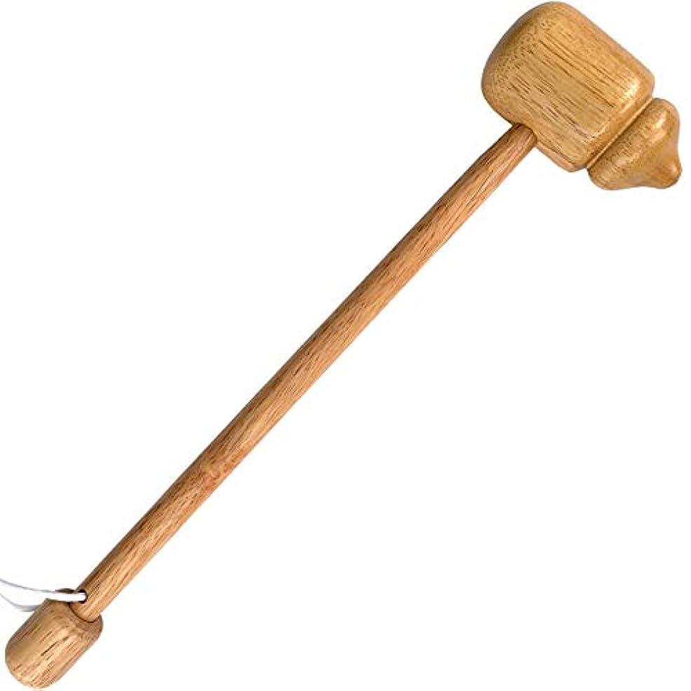 大声で管理する完全に木製 肩たたき ツボ押し ツボ叩き