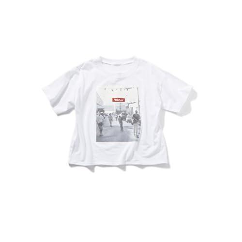 SPINNS フォトボックスTシャツ OFFWHITE -