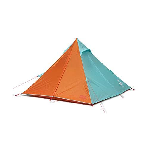 CHUMS(チャムス) ワンポールで簡単設営、お洒落なティピー型テント Booby Teepee TealOrange Free