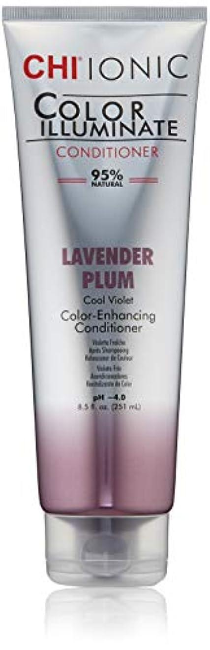 名誉同行それIonic Color Illuminate - Lavender Plum Conditioner