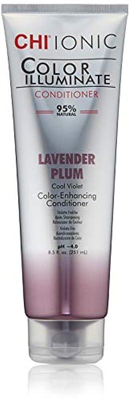 地下鉄それにもかかわらず鳩Ionic Color Illuminate - Lavender Plum Conditioner