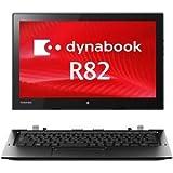 東芝 dynabook R82/P:Core M-5Y51、4GB、128GBSSD、タッチパネル+デジタイザー付12.5_FHD、WLAN、10 Pro 64、Office無 PR82PBUDC47AD11