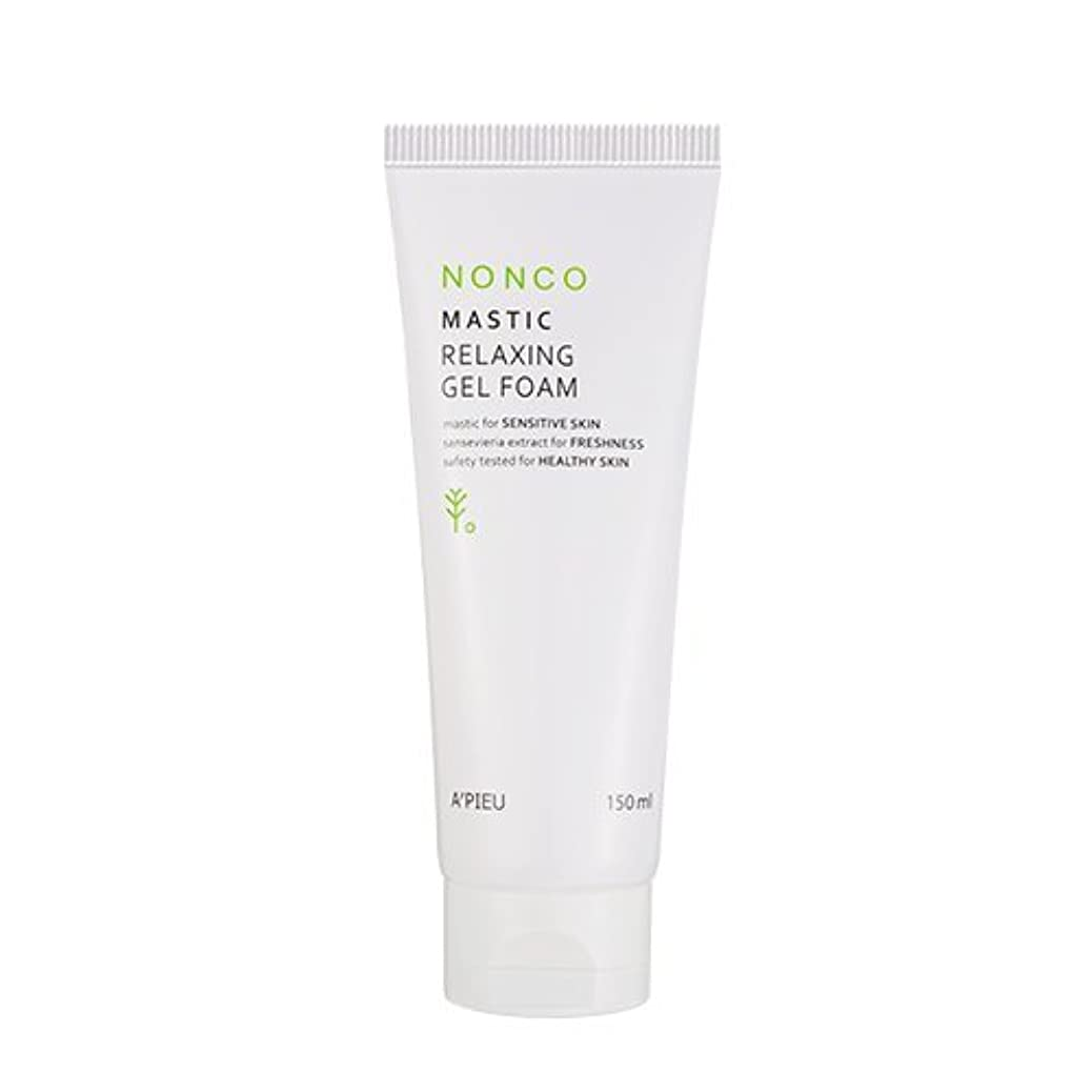 無限大反射委員会Apieu NanCo Mastic Relaxing Gel Foam 150ml [アピュ/オピュ] NonCo マスチック弱酸性ゲルフォーム 150ml [並行輸入品]