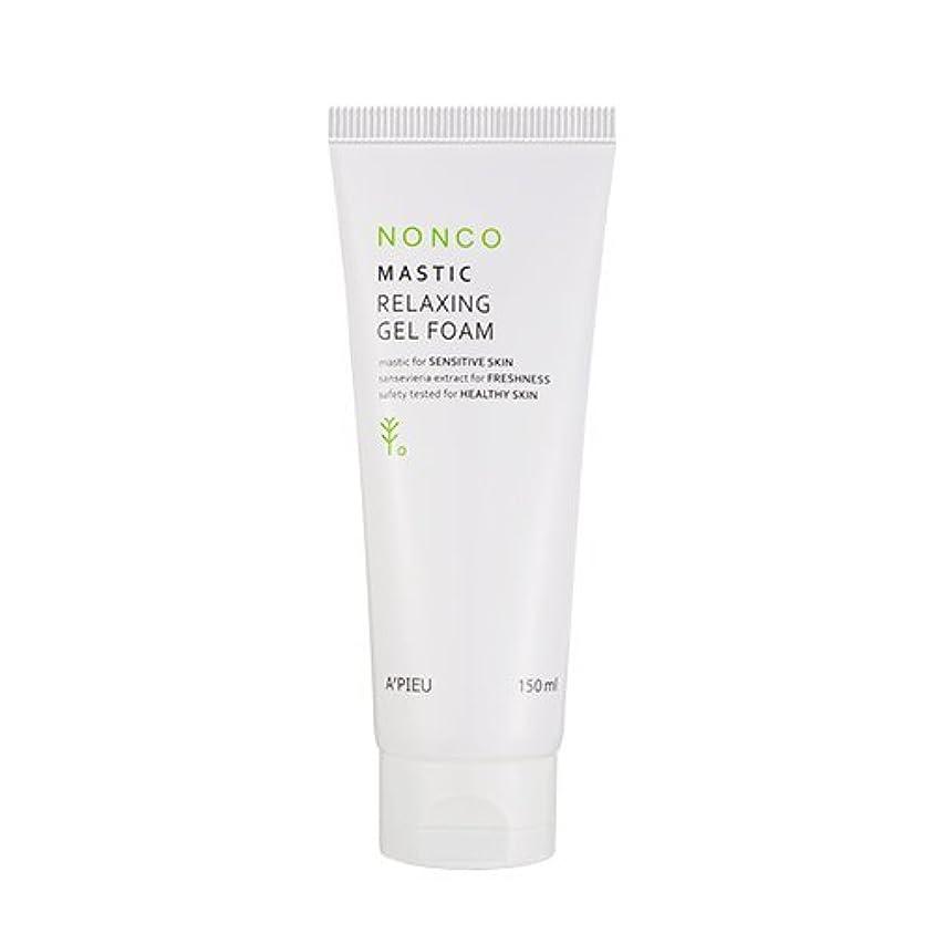 手術安定しました主張するApieu NanCo Mastic Relaxing Gel Foam 150ml [アピュ/オピュ] NonCo マスチック弱酸性ゲルフォーム 150ml [並行輸入品]