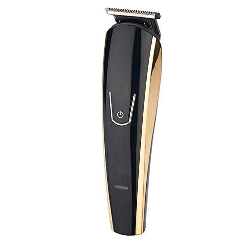蒸留するアナログ自我WAKABAFK 多機能5イン1バリカンusb充電式電動ヘアカッターヘアカッティングマシン理髪かみそり