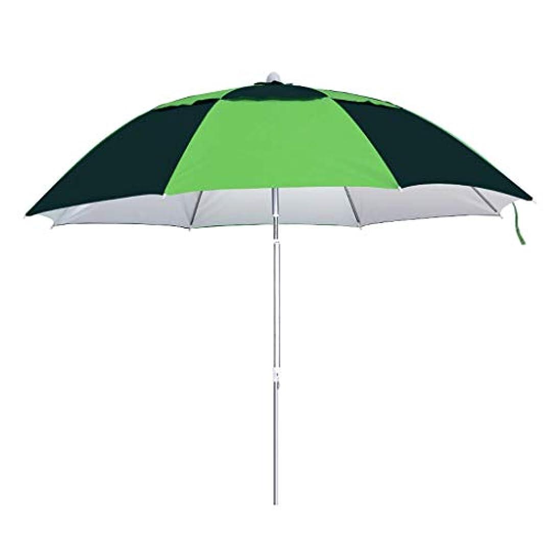 肌寒い肌寒い軽く太陽傘アルミ合金オックスフォード回転日焼け止め雨折りたたみ傘屋外サンシェード傘 (サイズ さいず : H1.97m)