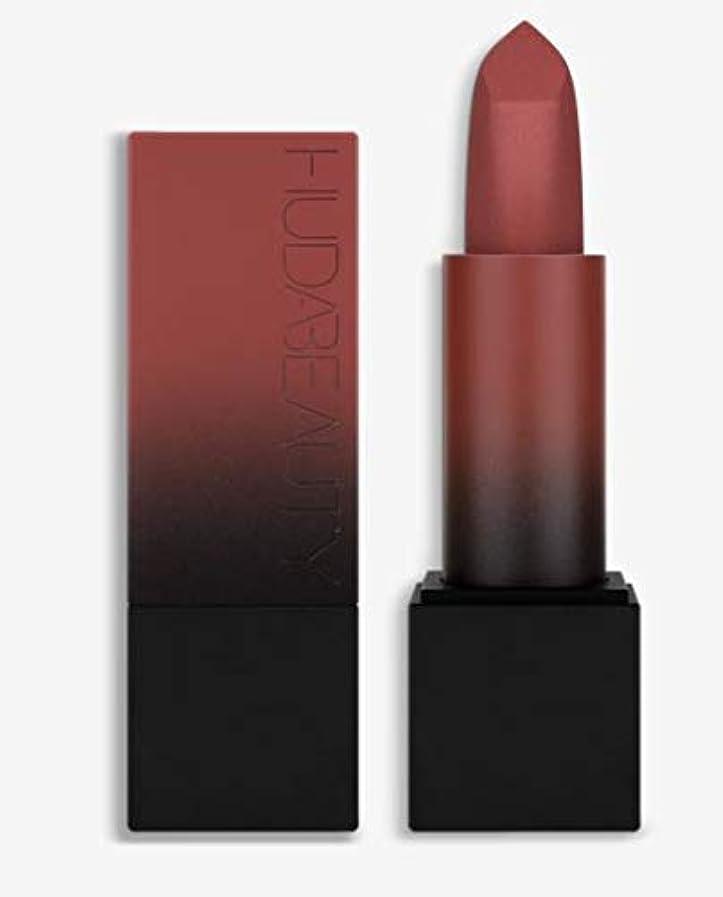 かる繊維ほとんどの場合Hudabeauty Power Bullet Matte Lipstick マットリップ Third Date