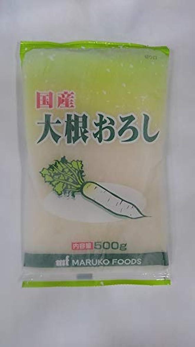 大洪水厳思い出大根おろし500g 国産【業務用冷凍食品】