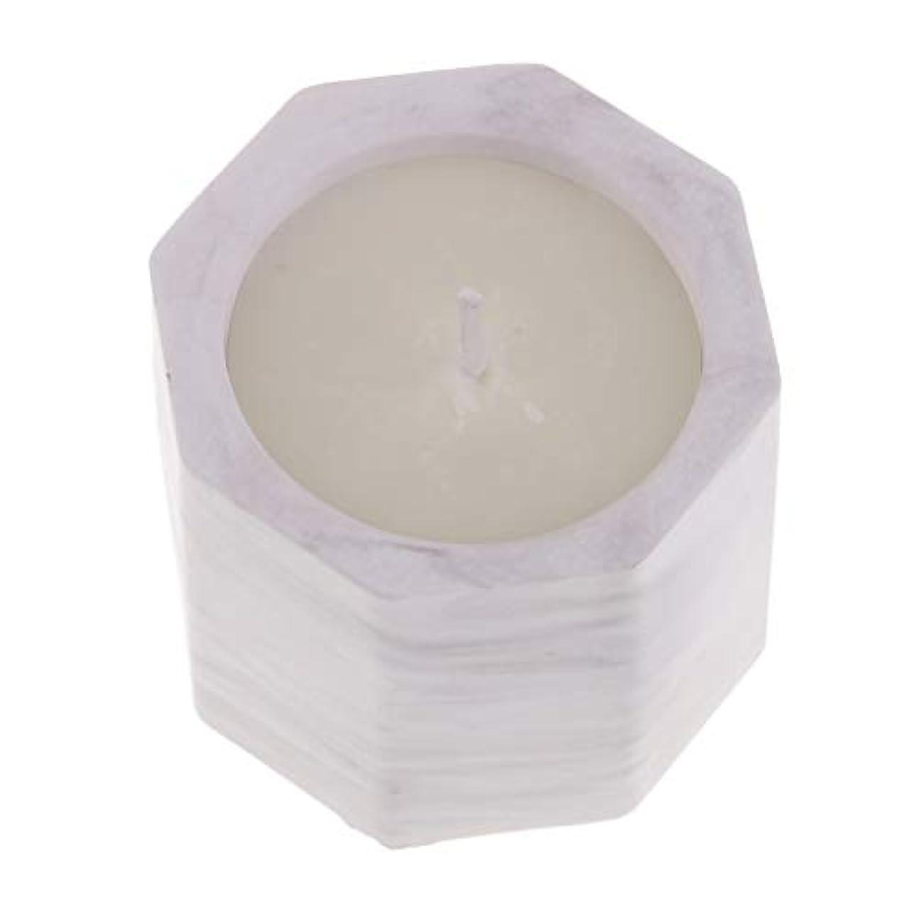 酸っぱい検出可能薄いですchiwanji エッセンシャルオイルアロマセラピーダイズワックス香料入りキャンドルW/フレグランスストーンホルダー