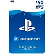 PlayStation Live Cards Hang AUD50/AUS