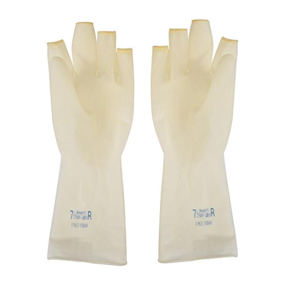リサイクルする一緒メンタルAEdiea 1ペア ゴム手袋   毛染め手袋 使い捨て 弾性 伸縮性 ヘアサロン サロンツール (M)