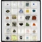 鉱物標本30種 (天然石付き)