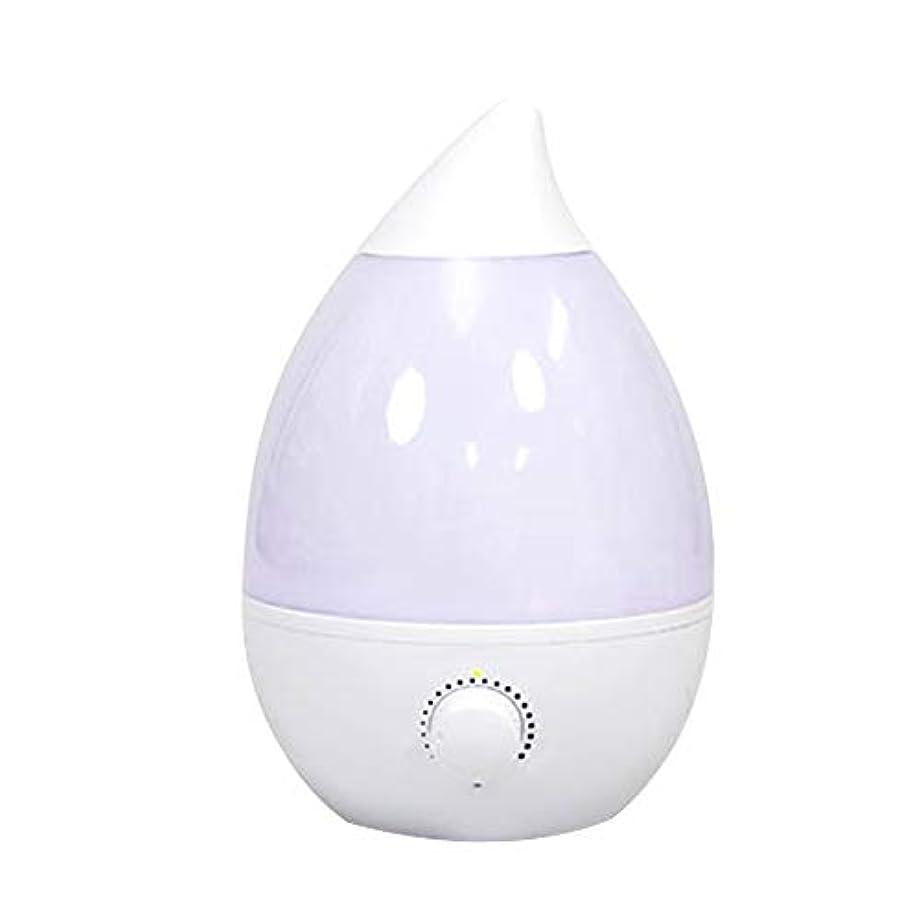 ことわざ消す簡潔な加湿器 おしゃれ 超音波式 卓上 アロマ加湿器 イルミネーション オフィス 乾燥 保湿 ホワイト 4L