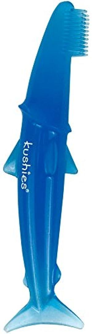 保持する遷移不測の事態Kushies 乳児用歯ブラシ 3 Months 80207