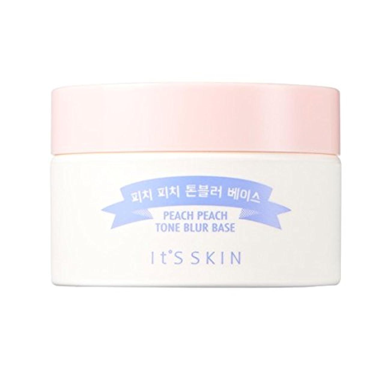 目指す正しくスクラブIt's Skin Peach Peach Tone Blur Base 30ml / イッツスキン ピーチピーチトーンブラーベース SPF25 PA++ 30 ml [並行輸入品]