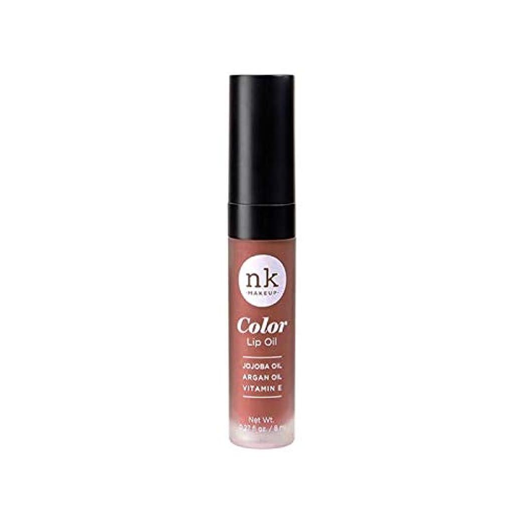 意気揚々プリーツ数学的なNICKA K Color Lip Oil - Shy Chai (並行輸入品)