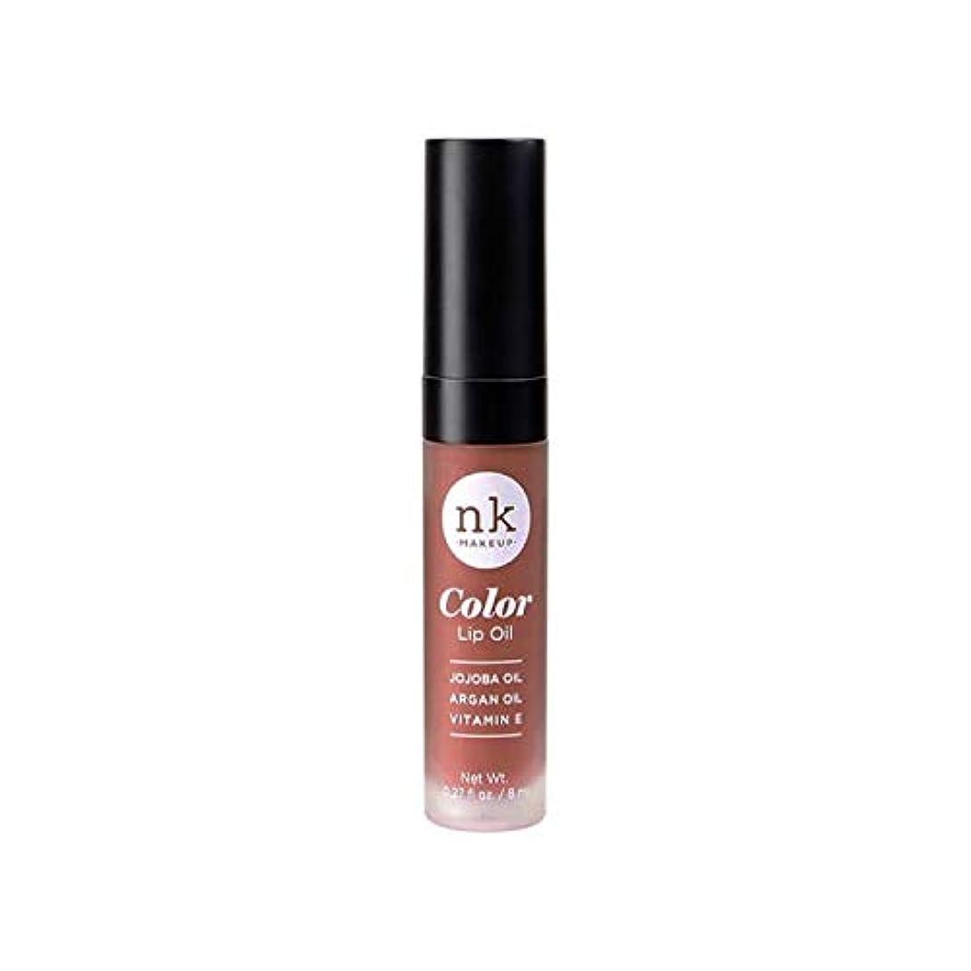 深い泥だらけ悔い改めるNICKA K Color Lip Oil - Shy Chai (並行輸入品)