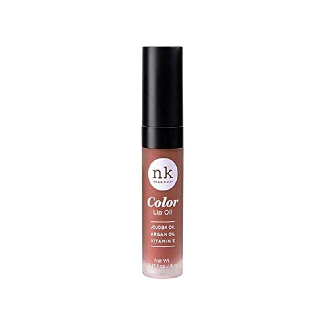 花瓶トン貸すNICKA K Color Lip Oil - Shy Chai (並行輸入品)
