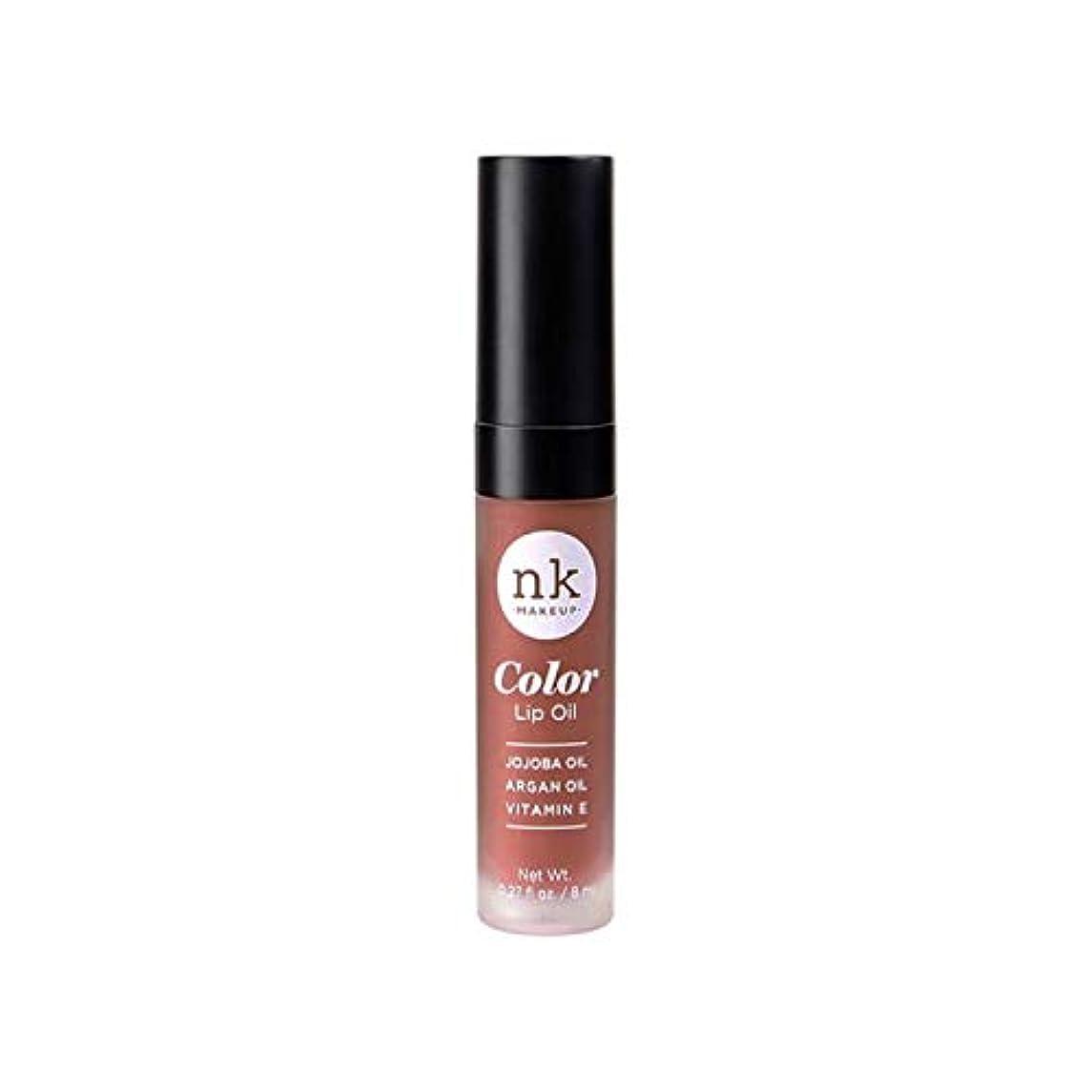 契約クローゼット愚かNICKA K Color Lip Oil - Shy Chai (並行輸入品)