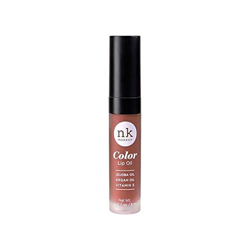伝統壮大な母性NICKA K Color Lip Oil - Shy Chai (並行輸入品)