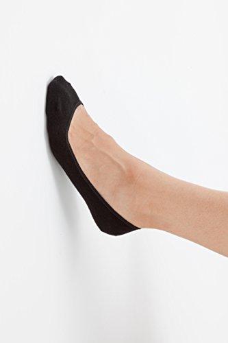 『桐灰化学 足の冷えない不思議なくつ下 足すっぽりインナーソックス 足冷え専用まるごとあったか 22-25cm浅履きタイプ 黒色 1足分(2個入)』の3枚目の画像