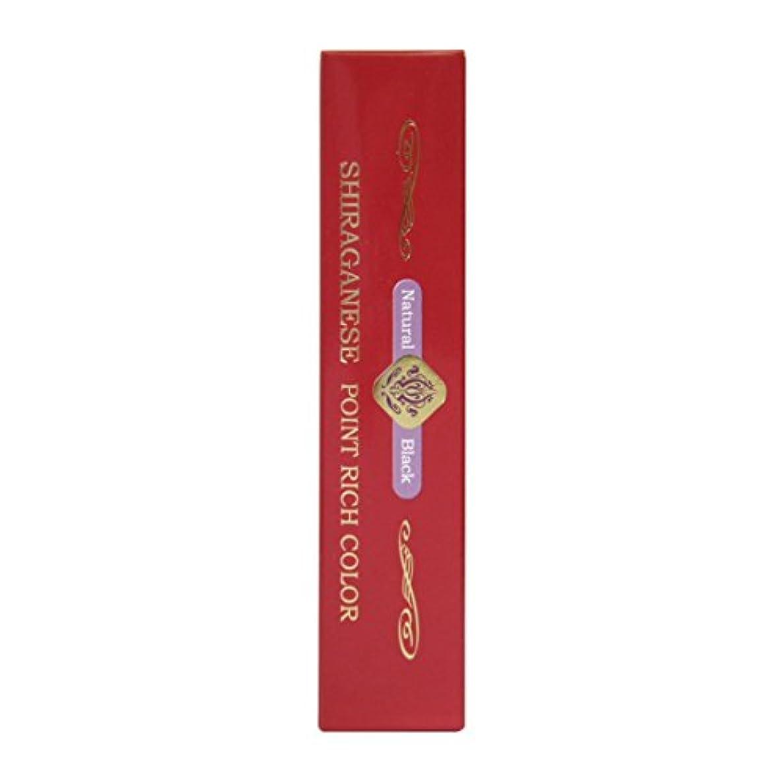 供給いつか記念品ビアント シラガネーゼ ポイントリッチカラー ナチュラルブラック 20g