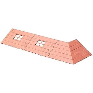 ハコルーム くまのがっこう ベースパーツ 赤い屋根キット 色分け済みプラモデル