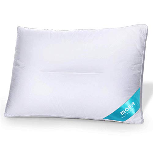 MOFIR 第二代改良版 枕 安眠 人気 快眠枕 健康枕 低刺激性 通気性抜群 防湿 抗菌 横向き対応 高さ調節可能 肩こり対策 いびき防止 頚椎サポート 丸洗い可能 高級ホテル仕様 家族のプレゼント ホワイト立体構造 43x63cm 一年間保証付き