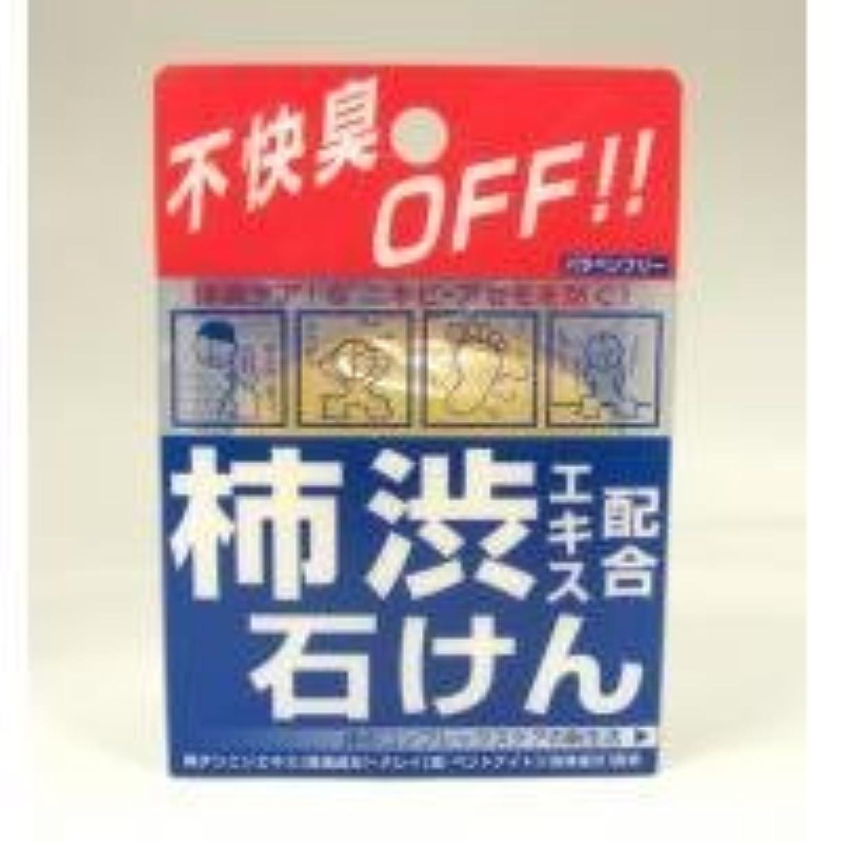 暗黙高尚な札入れ柿渋エキス配合石けん 100g