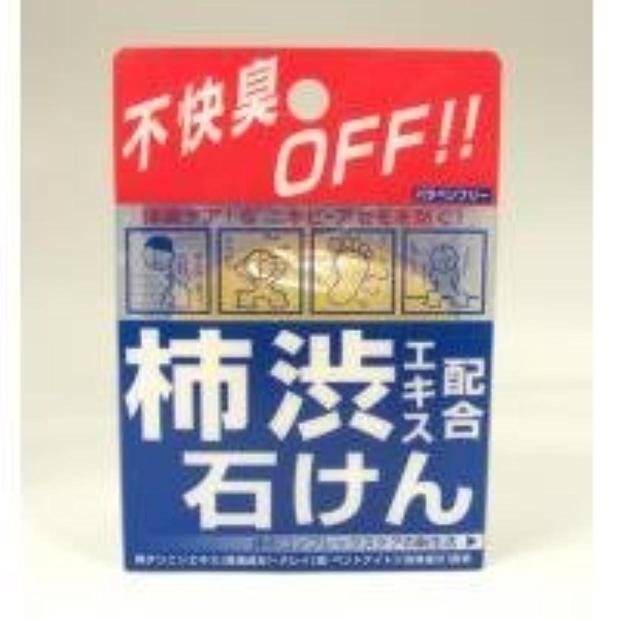 フィドル満員モッキンバード柿渋エキス配合石けん 100g
