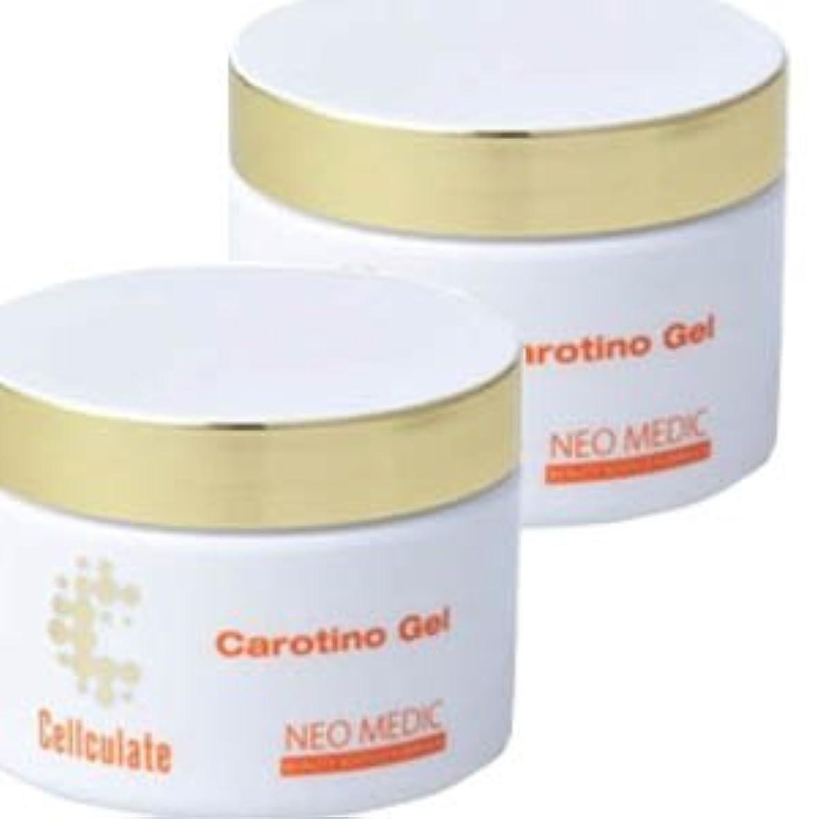 減らすオンス気分が良い【2個】セルキュレイト カロチーノジェル 60gx2個 (4580139810191)