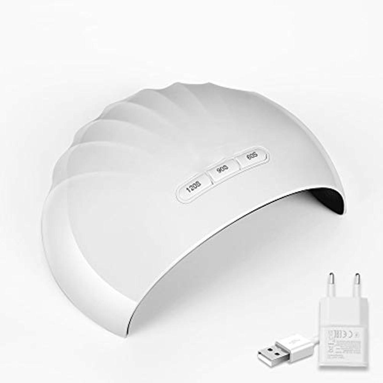 汚れる外科医発症ZXCVB ネイルランプ - UV LEDネイルランプ、ネイルドライヤーで自動センサー用爪とToenailsTimer設定