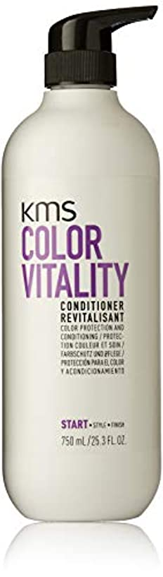 高速道路泥だらけ宇宙船KMSカリフォルニア Color Vitality Conditioner (Color Protection and Conditioning) 750ml/25.3oz並行輸入品