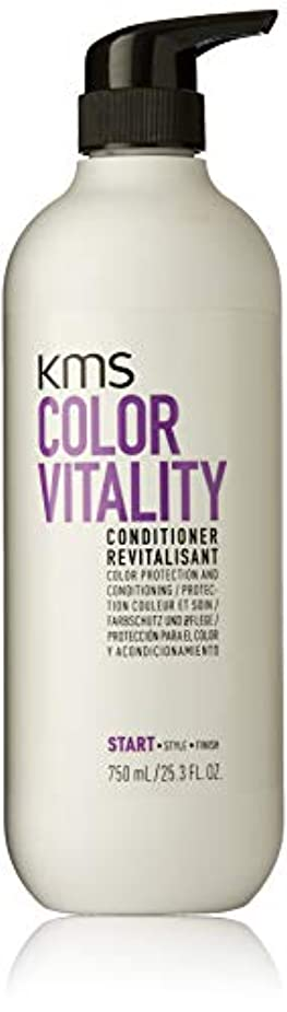 驚いた無駄ホイットニーKMSカリフォルニア Color Vitality Conditioner (Color Protection and Conditioning) 750ml/25.3oz並行輸入品