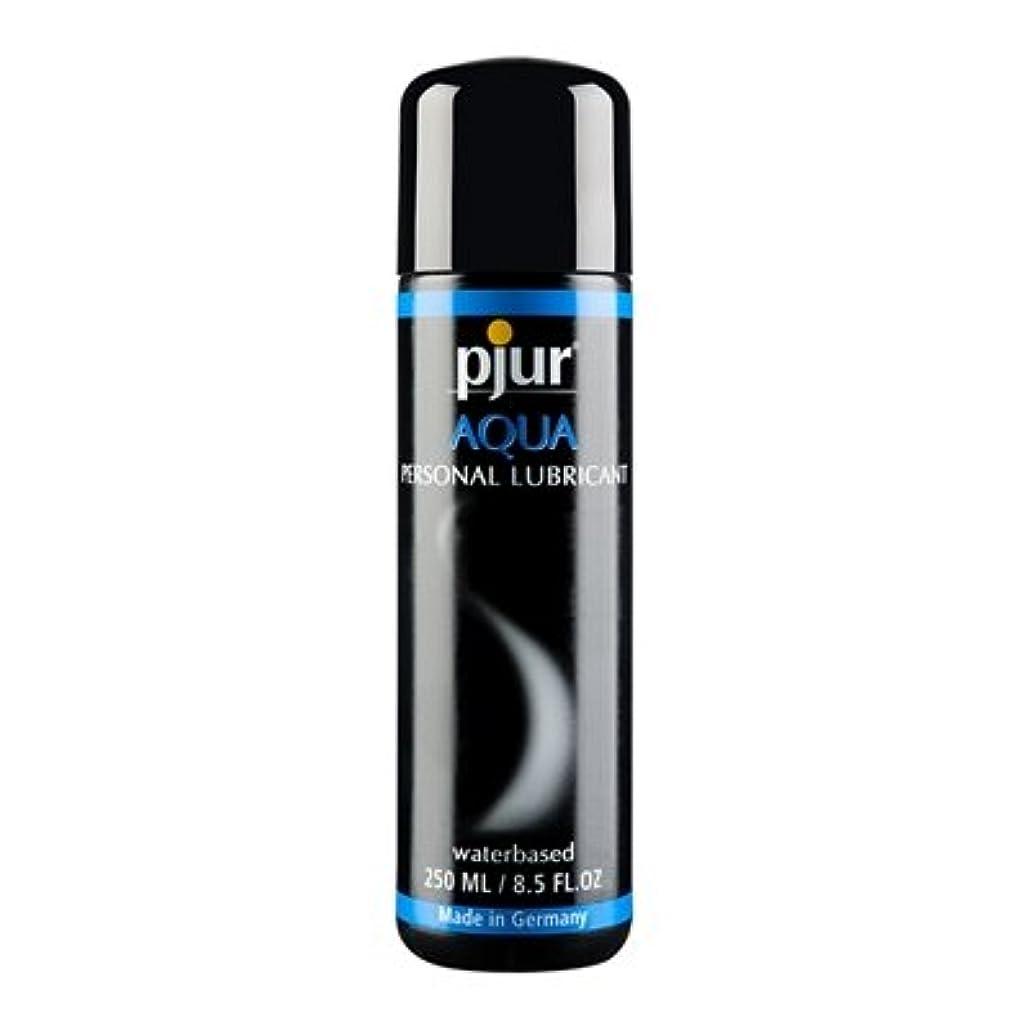に向かって有効Pjur Aqua Bottle Lubricant - 250ml