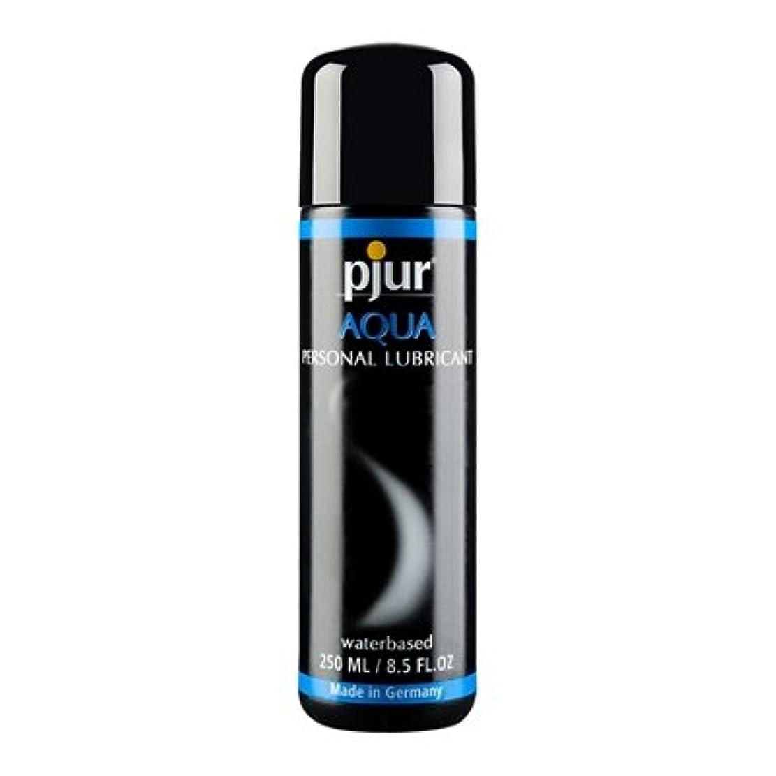 接触であること敷居Pjur Aqua Bottle Lubricant - 250ml