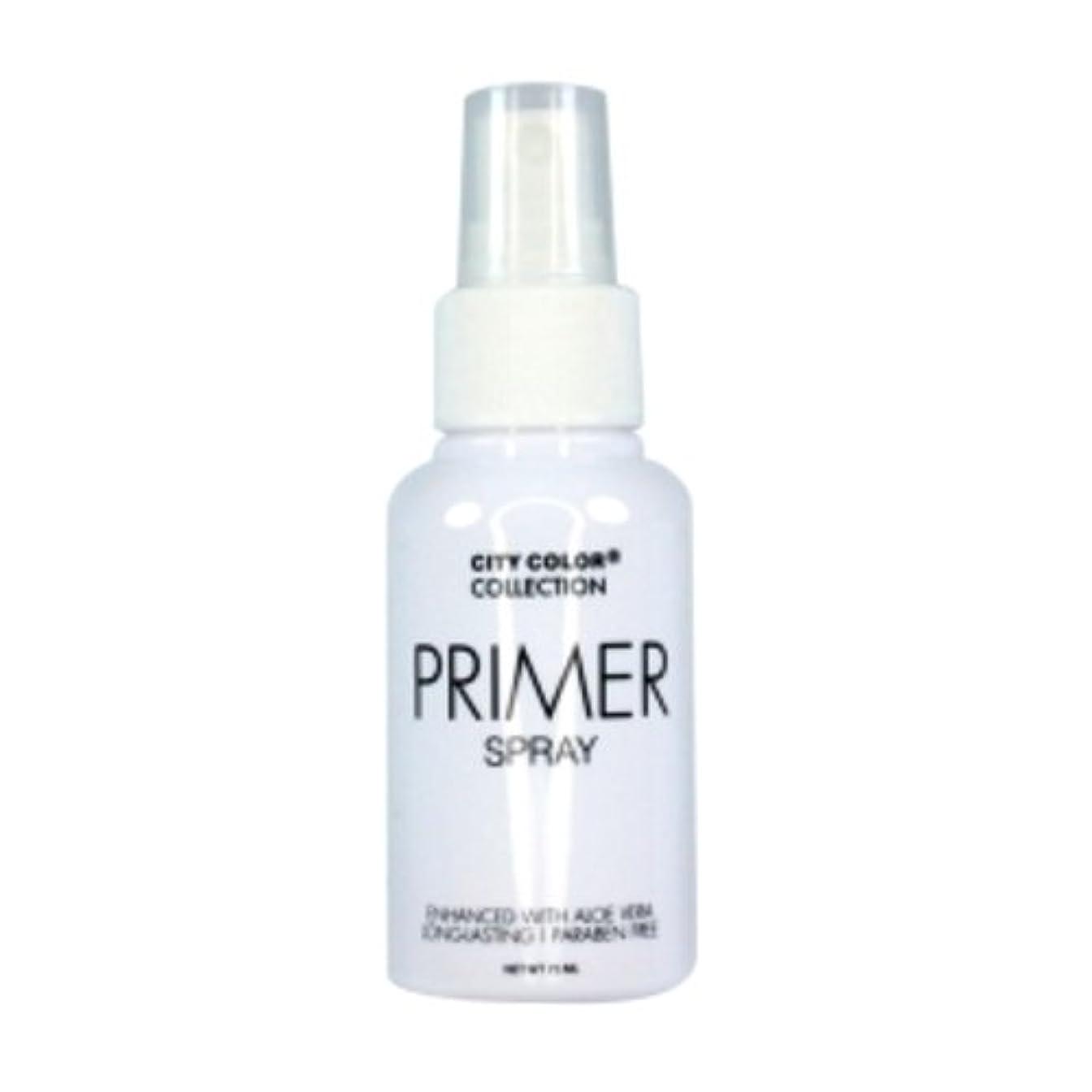 トリップ抑制する教室(3 Pack) CITY COLOR Primer Setting Spray (並行輸入品)