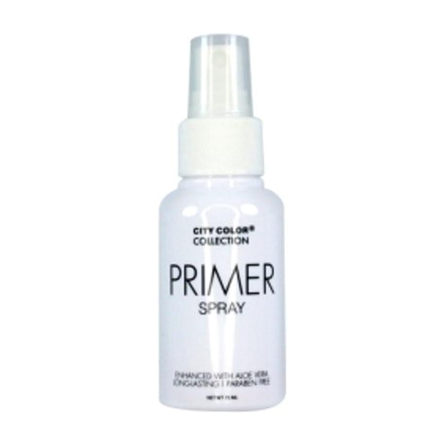 組普通の発疹(3 Pack) CITY COLOR Primer Setting Spray (並行輸入品)
