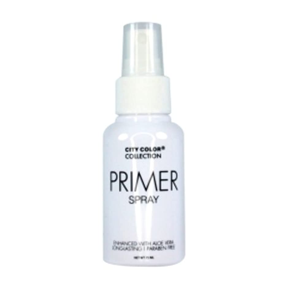 (6 Pack) CITY COLOR Primer Setting Spray (並行輸入品)