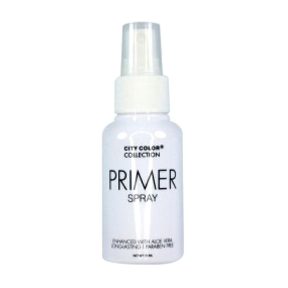 ファンブルイチゴ抑止する(3 Pack) CITY COLOR Primer Setting Spray (並行輸入品)