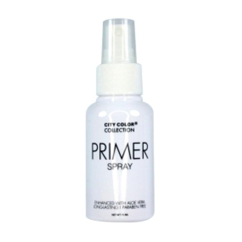 インサートピーク苦情文句(3 Pack) CITY COLOR Primer Setting Spray (並行輸入品)