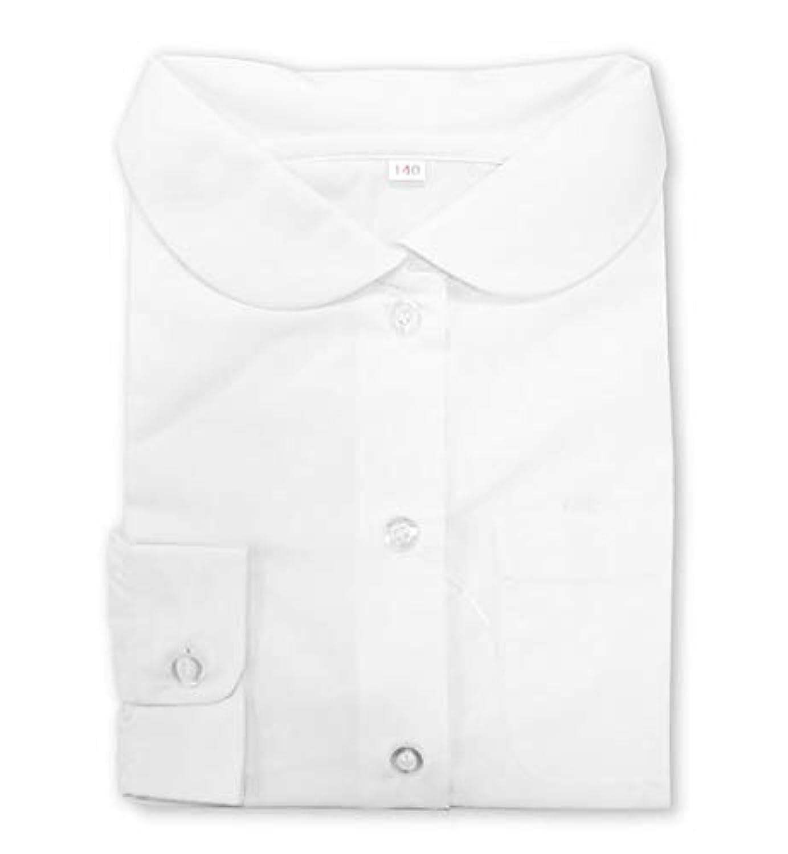 ASHBERRY (アッシュベリー) 形態安定?丸えり長袖ブラウス/カッターシャツ/ワイシャツ/女子スクールシャツ/