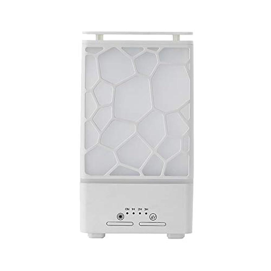 かかわらずグリップシングルyanQxIzbiu Essential Oil Diffuser Geometric Plaid Aroma Essential Oil Diffuser Home Office LED Lights Humidifier...