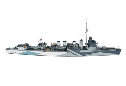1/700 英海軍タウン級駆逐艦5型 モントゴメリー1942 PN07040