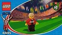 LEGO 4445 Coca-Cola Middle Fielder 1 Lego football Coca-Cola Midfielder 1