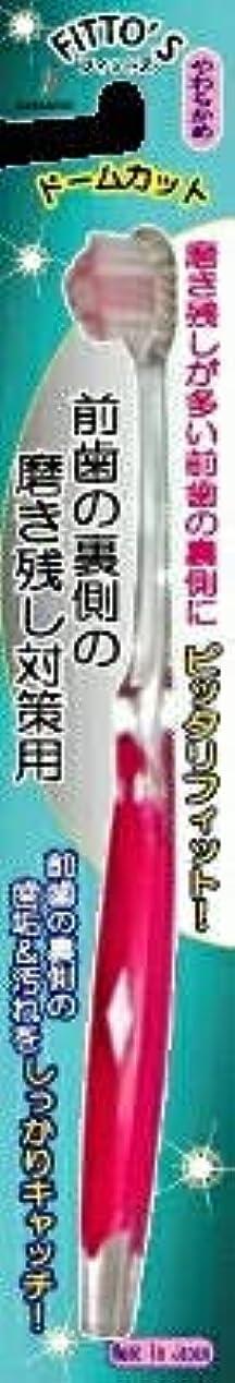 証人学習マキシム【まとめ買い】前歯の裏側の磨き残し対策用 フィットス やわらかめ ×6個