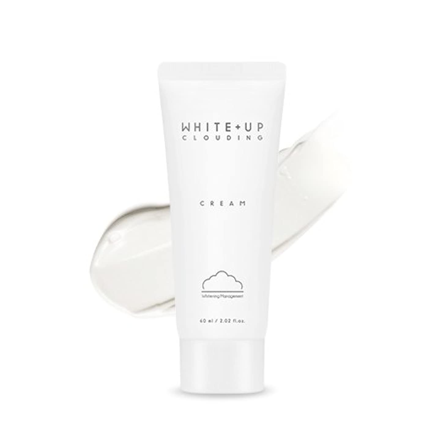 抜本的なコークス時間APIEU (WHITE+UP) Clouding Cream/アピュ ホワイトアップクラウドディングクリーム 60ml [並行輸入品]