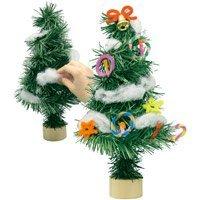 クリスマスツリー作り2個セット【子ども会クリスマス会に人気の簡単工作キット】